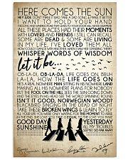 Lyrics The Beatles 16x24 Poster front