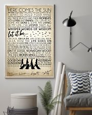 Lyrics The Beatles 16x24 Poster lifestyle-poster-1