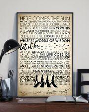 Lyrics The Beatles 16x24 Poster lifestyle-poster-2