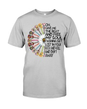 Oh give me the beat and  Classic T-Shirt front