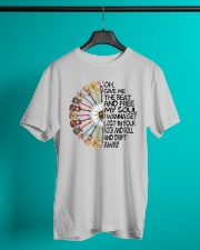 Oh give me the beat and  Classic T-Shirt lifestyle-mens-crewneck-front-3