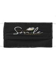 DON'T FORGET TO SMILE EVERYDAY Cloth face mask front
