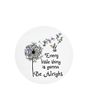 every little thing is gona be alright Circle Cutting Board tile
