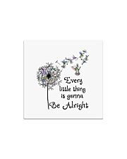 every little thing is gona be alright Square Magnet tile