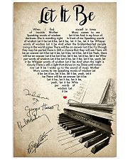 Let It Be - The Beatles  16x24 Poster front