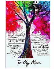 To my mom 3 16x24 Poster front