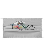 Love Grandma Cloth face mask front