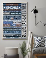 To my son 16x24 Poster lifestyle-poster-1
