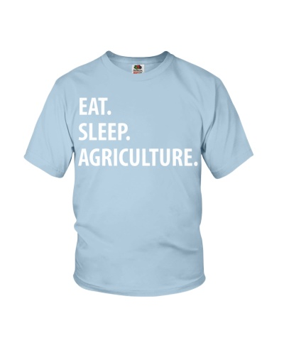 Agriculture T-Shirt-Eat Sleep
