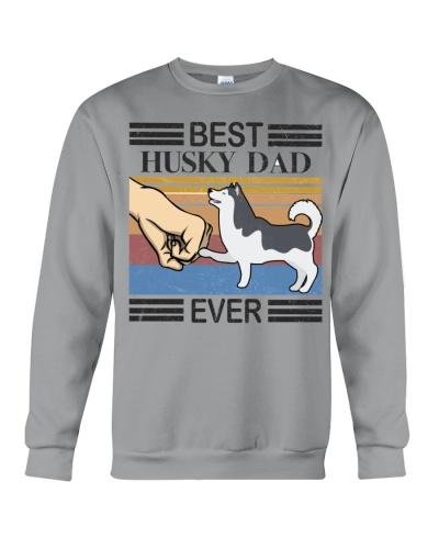 Husky tshirt - Best Husky Dad Ever