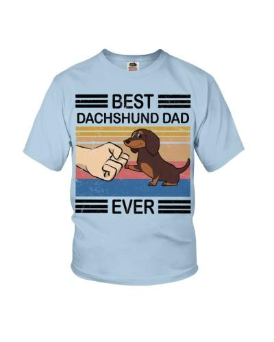 Dachshund Hoodie - Best Dachshund Dad Ever t-shirt