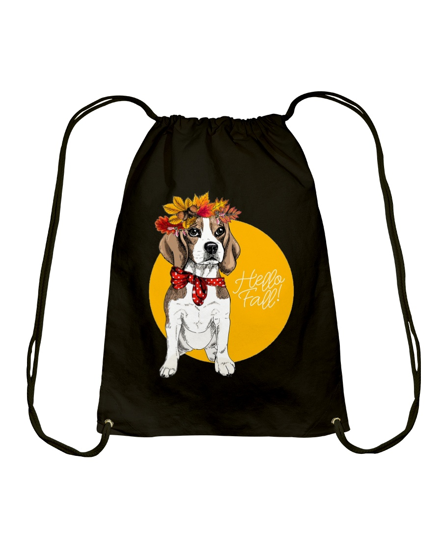 Beagle bag gift Drawstring Bag