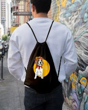 Beagle bag gift Drawstring Bag lifestyle-drawstringbag-front-1