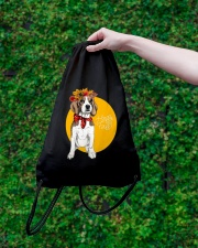 Beagle bag gift Drawstring Bag lifestyle-drawstringbag-front-3