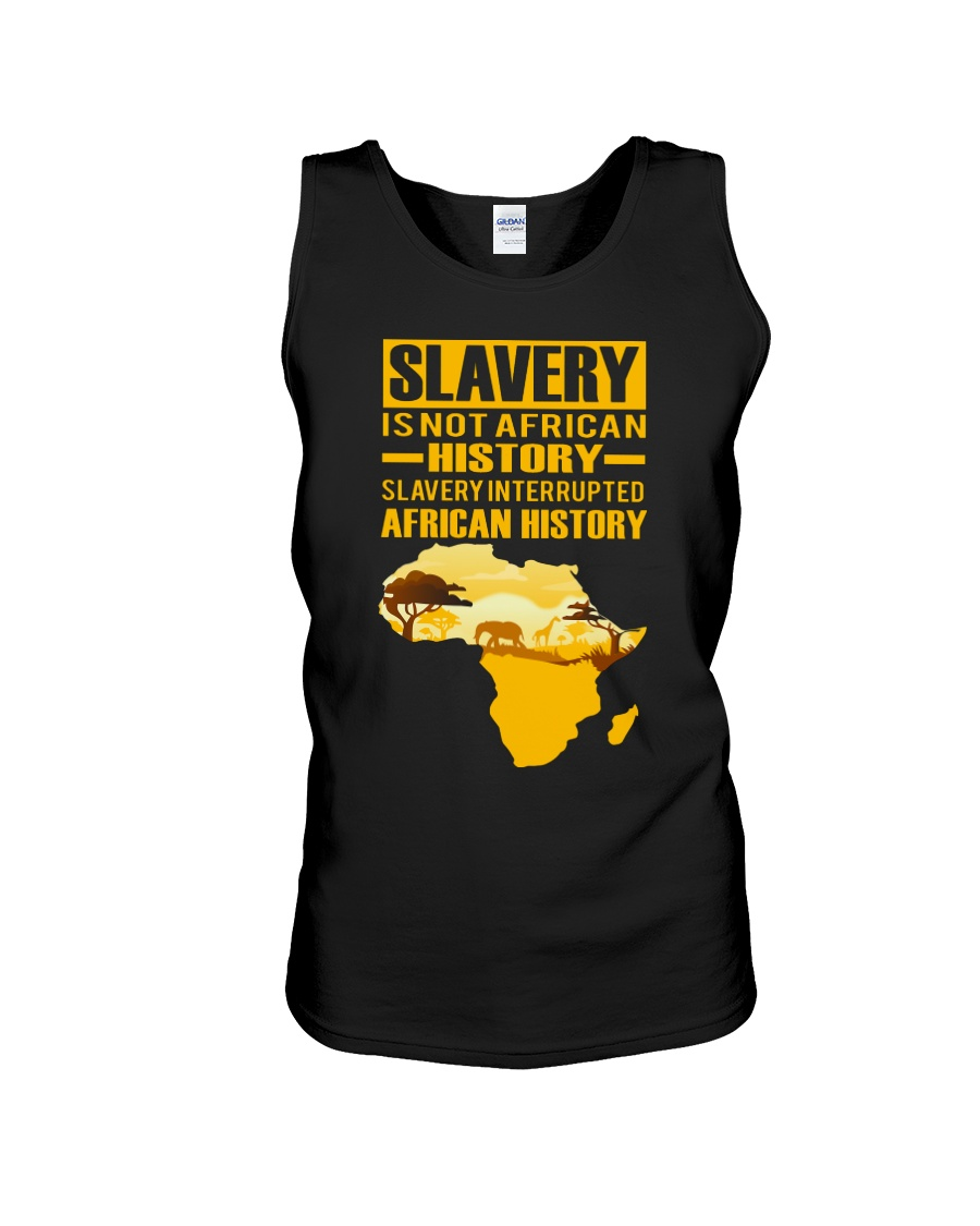 Black History Didn't Start with Slavery Unisex Tank showcase