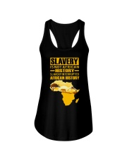 Black History Didn't Start with Slavery Ladies Flowy Tank tile