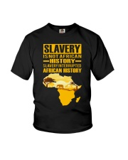 Black History Didn't Start with Slavery Youth T-Shirt thumbnail