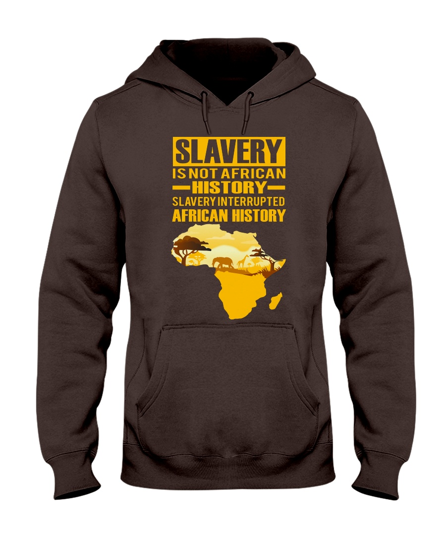 Black History Didn't Start with Slavery Hooded Sweatshirt