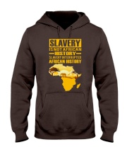 Black History Didn't Start with Slavery Hooded Sweatshirt front