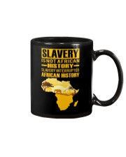 Black History Didn't Start with Slavery Mug tile