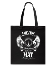 Black Woman Born in May Tote Bag thumbnail