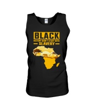 Black History Didn't Start with Slavery Unisex Tank thumbnail