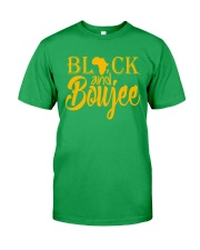 Black And Boujee  Classic T-Shirt front