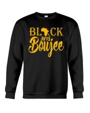 Black And Boujee  Crewneck Sweatshirt thumbnail