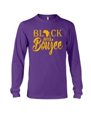 Black And Boujee  Long Sleeve Tee front