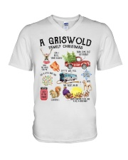 A Griswold Family Christmas V-Neck T-Shirt thumbnail