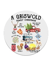 A Griswold Family Christmas Circle Coaster thumbnail