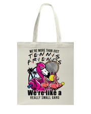 Tennis Friends Tote Bag tile