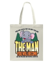 The Man You Will Become Tote Bag thumbnail
