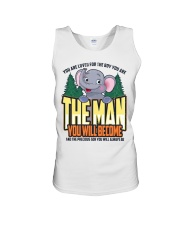 The Man You Will Become Unisex Tank thumbnail