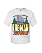 The Man You Will Become Youth T-Shirt thumbnail