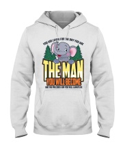 The Man You Will Become Hooded Sweatshirt thumbnail