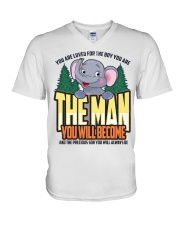The Man You Will Become V-Neck T-Shirt thumbnail