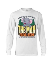 The Man You Will Become Long Sleeve Tee thumbnail