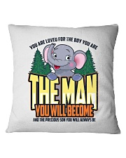 The Man You Will Become Square Pillowcase thumbnail