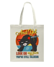 Look On My Face Tote Bag thumbnail