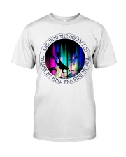 Into The Ocean I Go Classic T-Shirt front