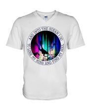 Into The Ocean I Go V-Neck T-Shirt thumbnail