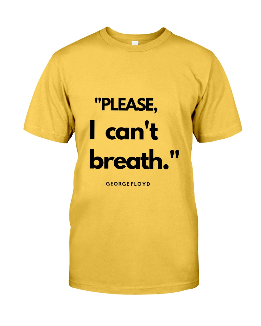 I can't breath  Classic T-Shirt