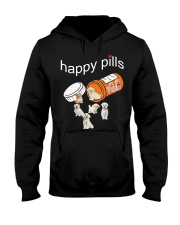 Happy Pills - Maltese Hooded Sweatshirt thumbnail