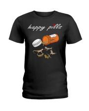 HAPPY PILLS - BEARDER DRAGON Ladies T-Shirt thumbnail