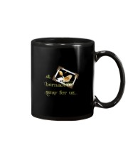 Saint Bernadette T Shirt Virgin Sai Mug tile