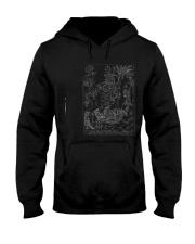 Saint Cristopher Woodbook Print  Hooded Sweatshirt front