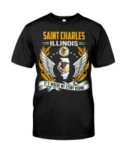 Saint Charles Illinois Classic T-Shirt tile