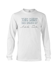 This shirt was sign by Tesla Long Sleeve Tee thumbnail