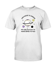 The universe and its meaning Classic T-Shirt thumbnail